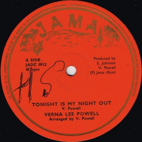 VERNA LEE POWELL-tonight is my night out