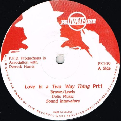 SOUND INNOVATORS-love is a two way thing