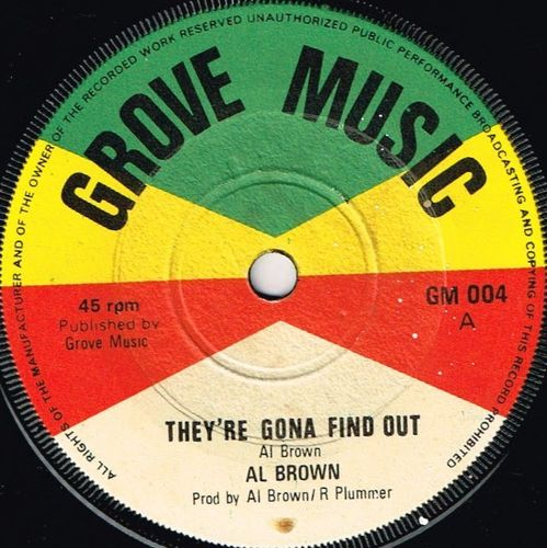AL BROWN-they're gonna find out