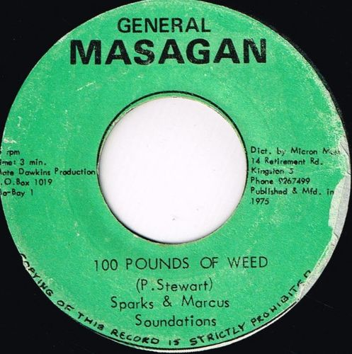 SPARKS & MARCUS-100 pounds of weed