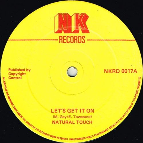 NATURAL TOUCH-let's get it on