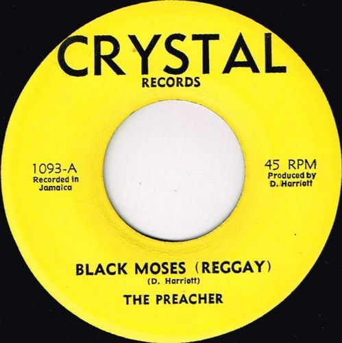 THE PREACHER-black moses
