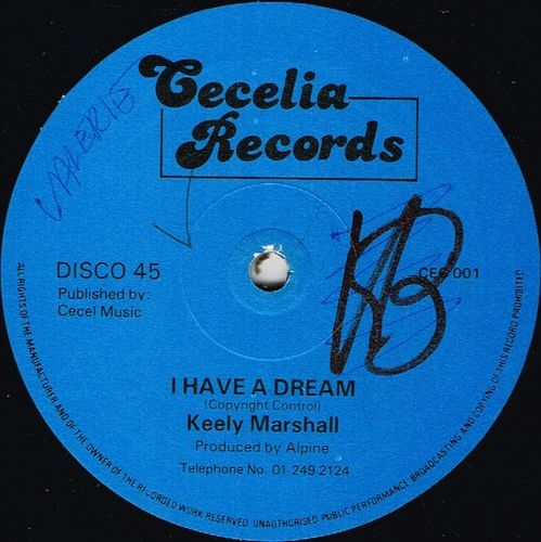 KEELY MARSHALL-i have a dream