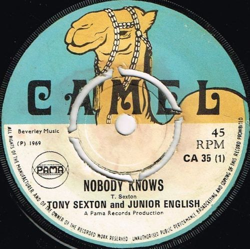 TONY SEXTON & JUNIOR ENGLISH-nobody knows