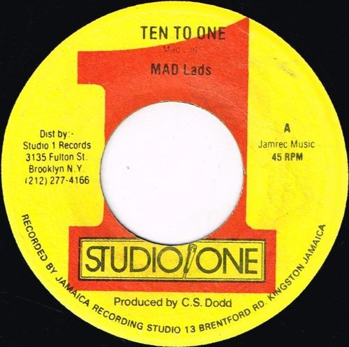 MAD LADS-ten to one