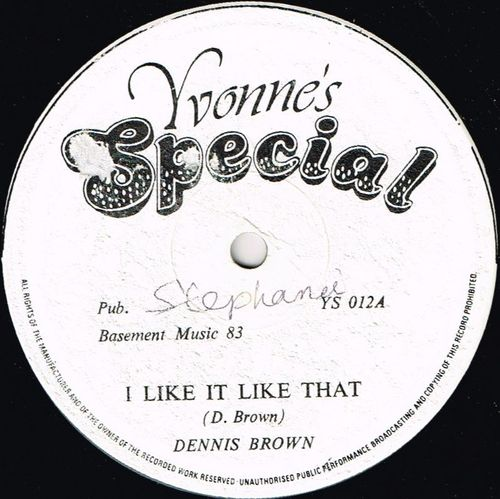 DENNIS BROWN-i like it like that
