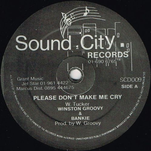 WINSTON GROOVY-please on't let me cry
