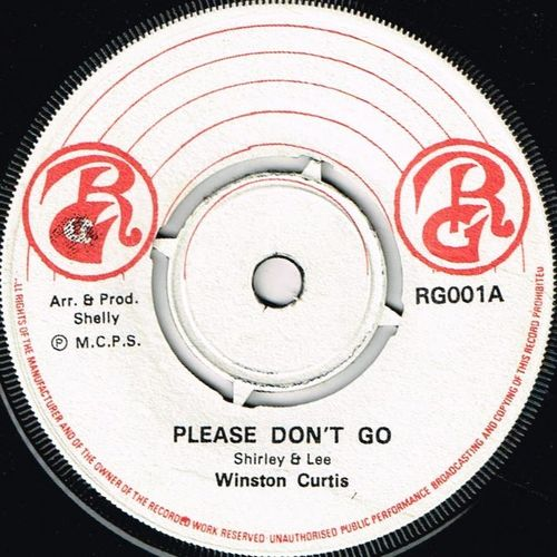 WINSTON CURTIS-please don't go