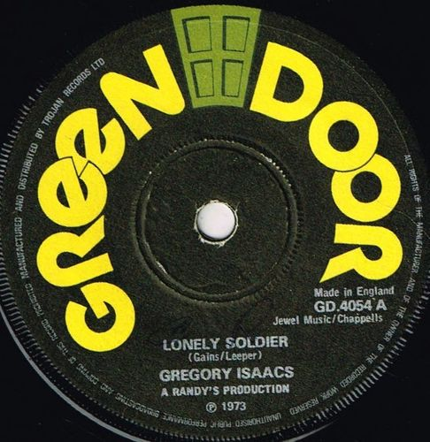 GREGORY ISAACS-lonely soldier