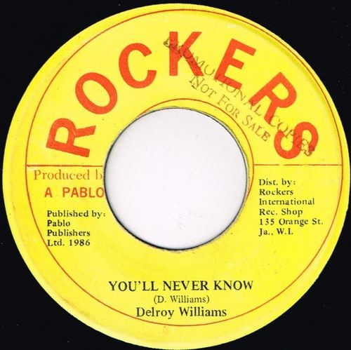 DELROY WILLIAMS-you'll never know
