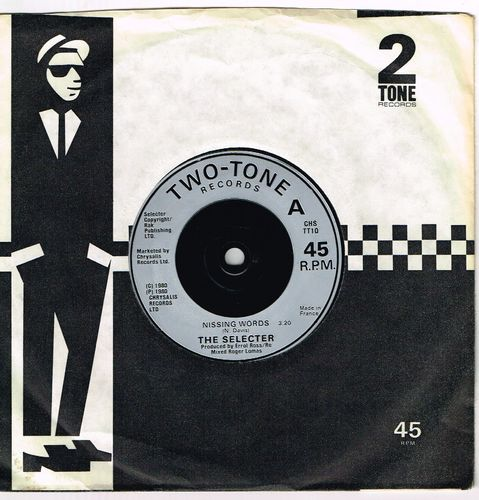 SELECTER-missing words  (misprint of title)