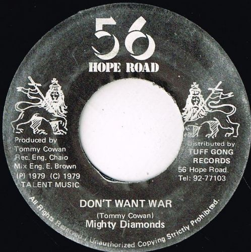 DIAMONDS-don't want war