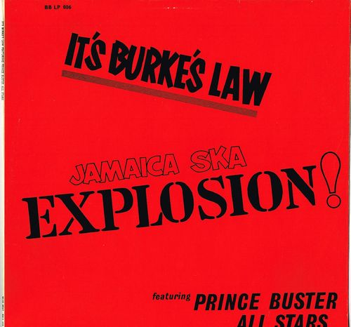 PRINCE BUSTER ALL STARS-it's burkes law