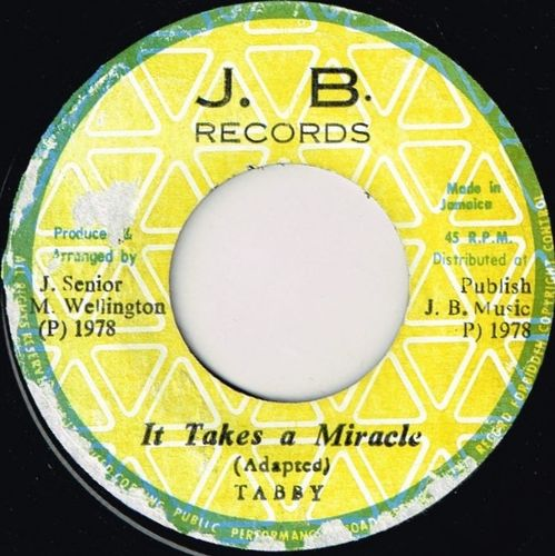 TABBY-it takes a miracle