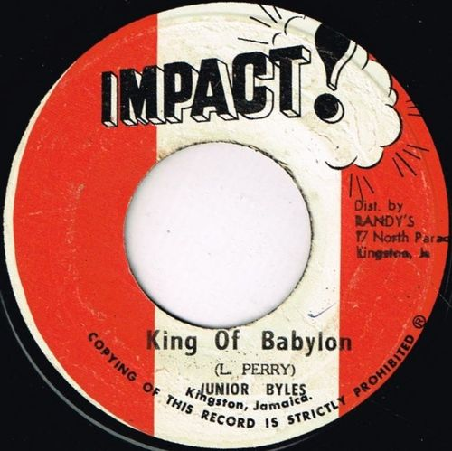 JUNIOR BYLES-king of babylon