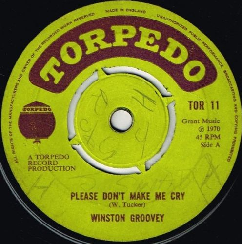 WINSTON GROOVY-please don't make me cry
