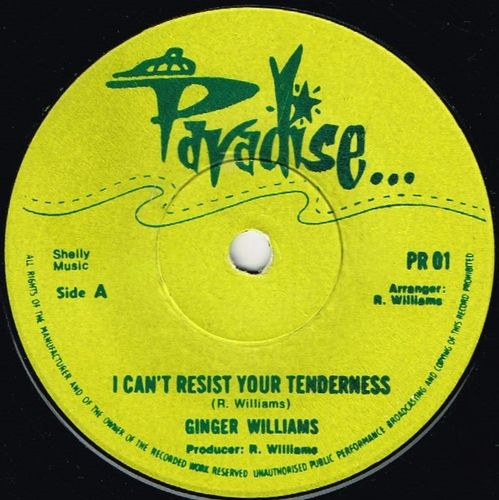 GINGER WILLIAMS-i can't resist your tenderness