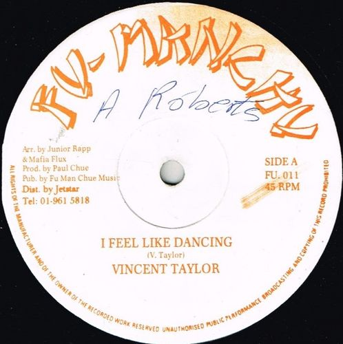 VINCENT TAYLOR-i feel like dancing