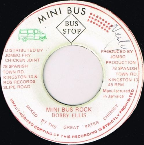 BOBBY ELLIS-mini bus rock