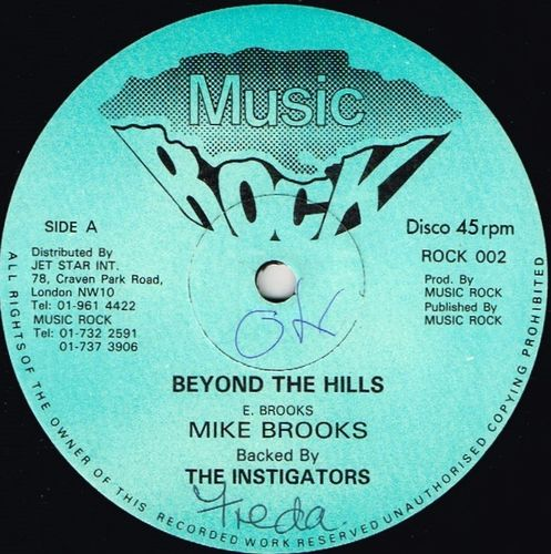 MIKE BROOKS & INSTIGATORS-beyond the hills
