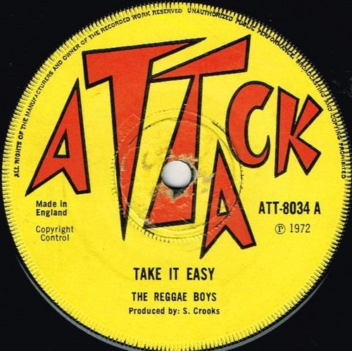 REGGAE BOYS-take it easy