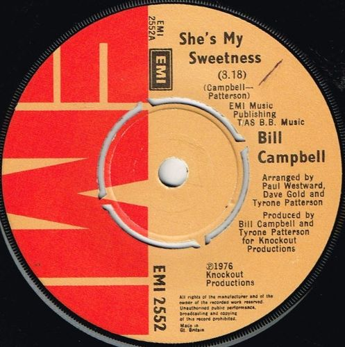 BILL CAMPBELL-she's my sweetness