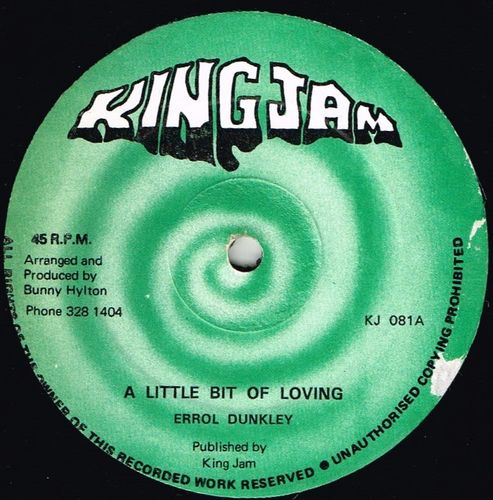 ERROL DUNKLEY-a little bit of loving