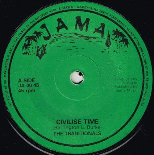 TRADITIONALS-civilise time