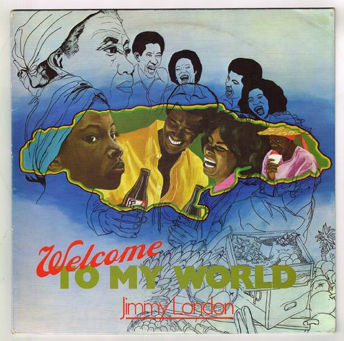JIMMY LONDON-welcome to my world