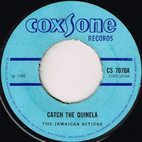 JAMAICAN ACTIONS-catch the quinela
