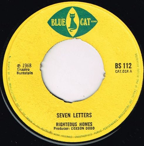 RIGHTEOUS HOMES-seven letters