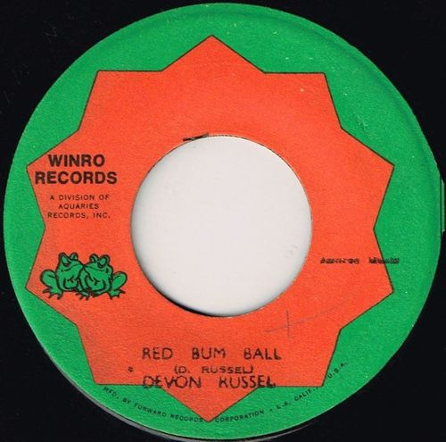 DEVON RUSSELL-red bum ball
