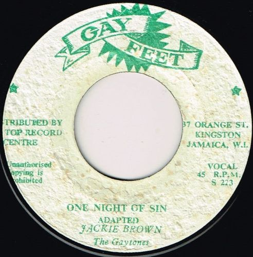 JACKIE BROWN-one night of sin