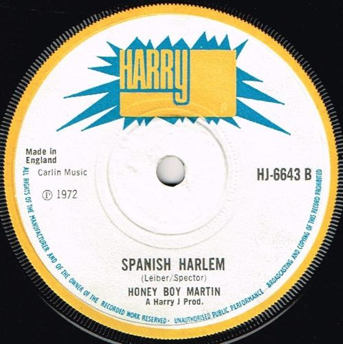 HONEY BOY MARTIN-spanish harlem
