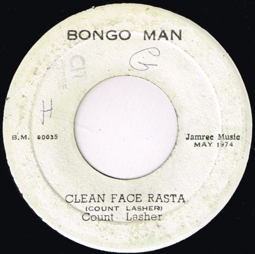 COUNT LASHER-clean face rasta