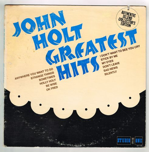 JOHN HOLT-john holt greatest hits