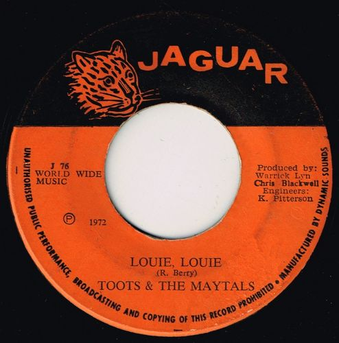 TOOTS & MAYTALS-louie louie