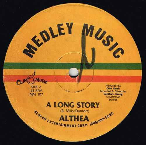 ALTHEA-a long story