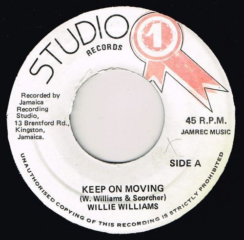 WILLIE WILLIAMS-keep on moving
