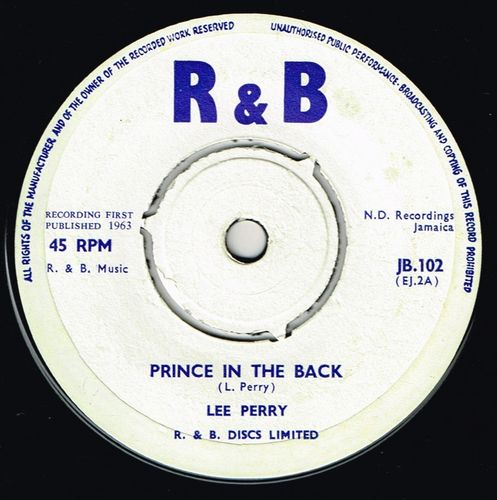 LEE PERRY-prince in the back