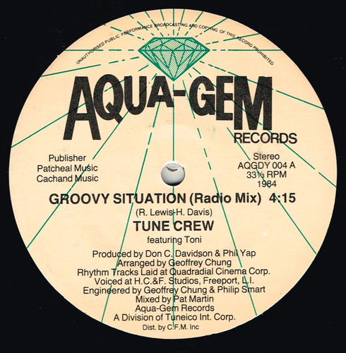 TUNE CREW-groovy situation