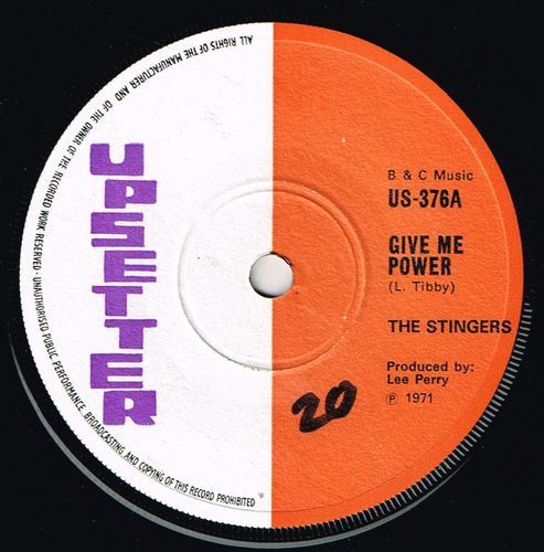 STINGERS-give me power