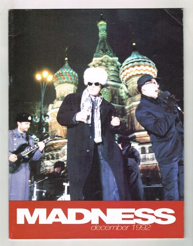 MADNESS-one step beyong december 1992 tour programme