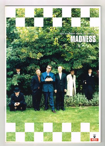 MADNESS-the maddest show on earth, 1999 tour programme