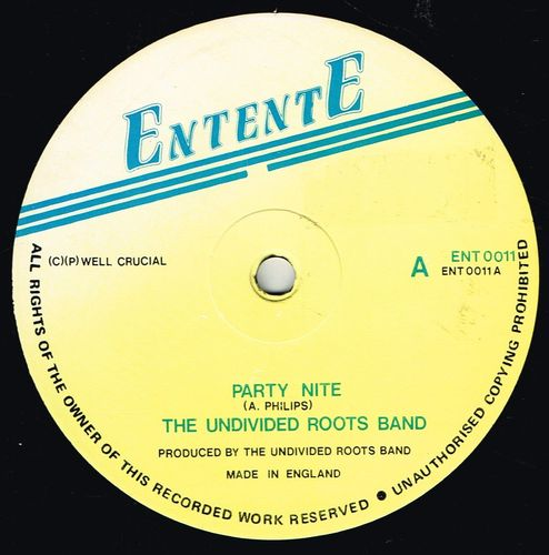 UNDIVIDED ROOTS-party night
