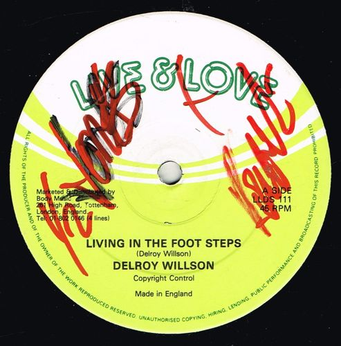 DELROY WILSON-living in the foot steps
