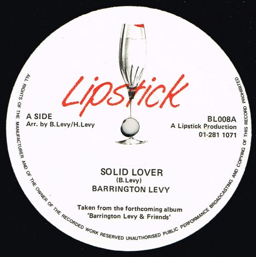 BARRINGTON LEVY-solid lover