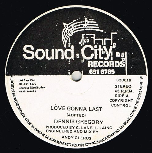 DENNIS GREGORY-love gonna last