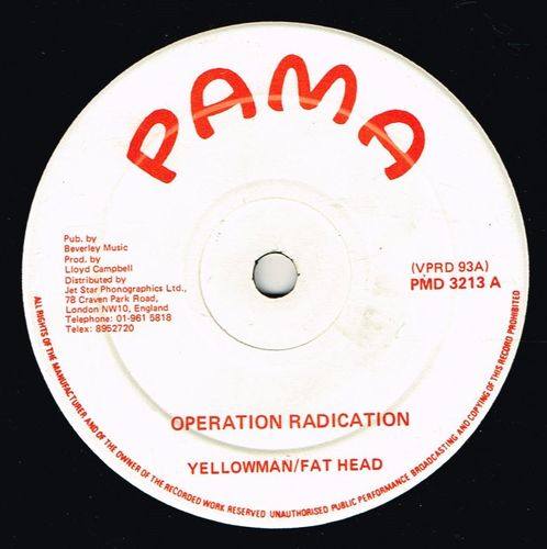 YELLOWMAN & FAT HEAD-operation radication