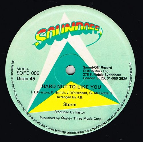STORM-it's hard not to like you